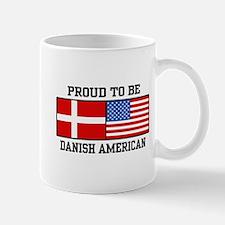 Proud Danish American Mug