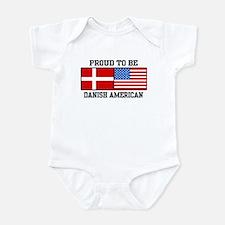 Proud Danish American Infant Bodysuit