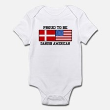 Proud Danish American Onesie
