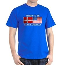 Proud Danish American T-Shirt