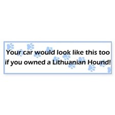 Your Car Lithuanian Hound Bumper Bumper Sticker