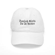 Danish Girls Do It Better Baseball Cap