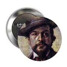 "Faces ""Debussy"" 2.25"" Button"