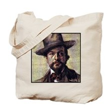 "Faces ""Debussy"" Tote Bag"