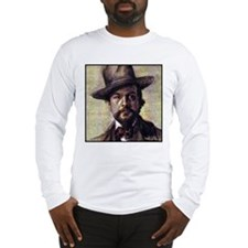 """Faces """"Debussy"""" Long Sleeve T-Shirt"""