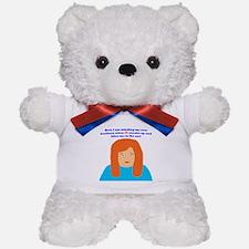 65th birthday bite Teddy Bear