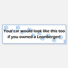 Your Car Leonberger Bumper Bumper Bumper Sticker