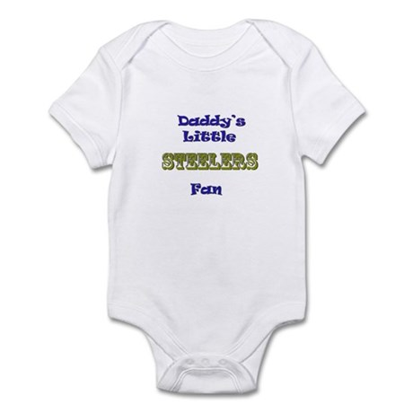 daddy's little steeler fan bo Infant Bodysuit