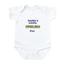 daddy's little steeler fan bo Infant Bodysuit