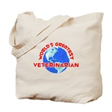 World's Greatest Veter.. (F) Tote Bag