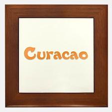 Curacao Framed Tile