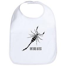Nature Bites - Scorpion black Bib