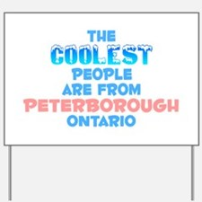 Coolest: Peterborough, ON Yard Sign