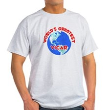 World's Greatest Vicar (F) T-Shirt