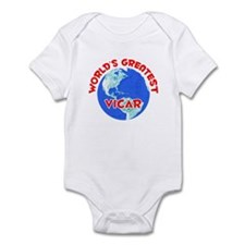World's Greatest Vicar (F) Infant Bodysuit