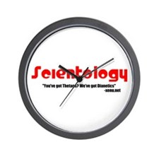 $cientology: You've Got Theta Wall Clock