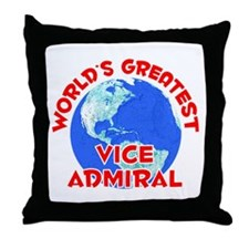 World's Greatest Vice .. (F) Throw Pillow