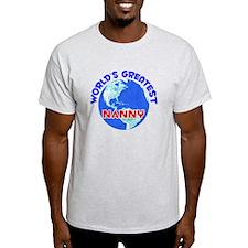 World's Greatest Nanny (E) T-Shirt