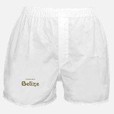 I'd Rather Be...Belize Boxer Shorts