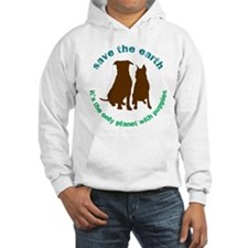 Cute Save the earth it's the only planet with beer Hoodie