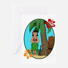 Hula Baby Greeting Cards (Pk of 20)