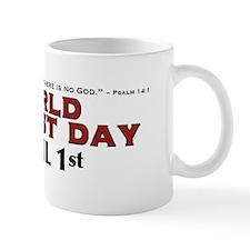 World Atheist Day 3.0 - Mug