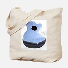 Chrome Guitar Tote Bag