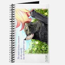 Lovely curious skogkatt Journal