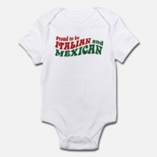 Proud Italian and Mexican Infant Bodysuit