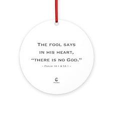 World Atheist Day 2.0 - Ornament (Round)