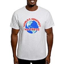 World's Greatest Waitr.. (F) T-Shirt