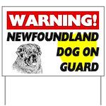 Newfoundland Gifts Yard Sign