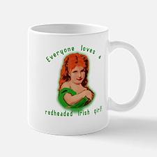 Redheaded Irish Girl Mug