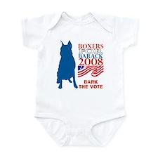 Unique Bark obama Infant Bodysuit