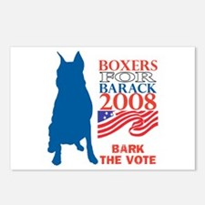 Cute Bark for obama Postcards (Package of 8)