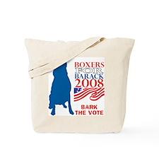 Cool Bark for barack Tote Bag
