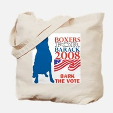 Cute Bark barack Tote Bag