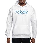 Poker Script Hooded Sweatshirt