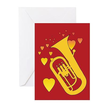 Euphonium Heartsong Greeting Cards (Pk of 20)