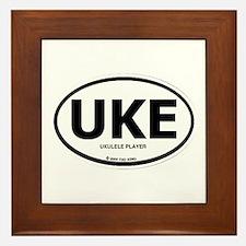 Cute Ukes Framed Tile
