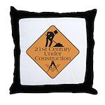 Free Mason Builders Throw Pillow
