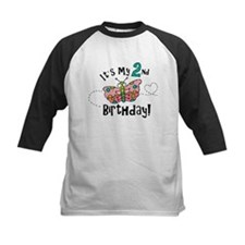 Butterfly Birthday Second Tee