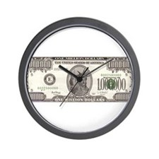 Your Millions Dollars Wall Clock