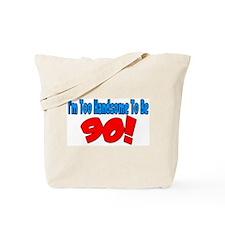 Unique Turn 90 Tote Bag