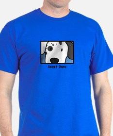 Anime Harlequin Great Dane T-Shirt