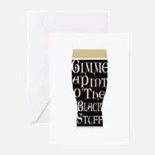 The Black Stuff Greeting Cards (Pk of 10)