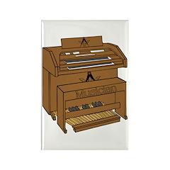 Masonic Lodge Musician Rectangle Magnet (100 pack)