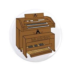 "Masonic Lodge Musician 3.5"" Button (100 pack)"