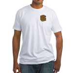 Masonic Lodge Musician Fitted T-Shirt