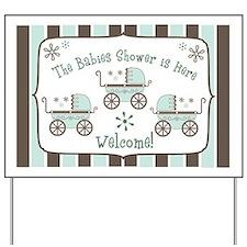 Babies Shower -  Yard Sign